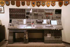 Ballistic Control Panel (cliff1066) Tags: bridge museum hawaii oahu navy submarine worldwarii pearlharbor missile torpedo harpoon controlroom poseidon usnavy officer wahoo engineroom polaris galley ussmissouri deckgun antiaircraft caliber ballistic navigationsystem parche ussbowfin historiclandmark conningtower wardroom battleflags submarinemuseum quadgun