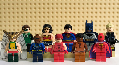 Justice League Minifigs