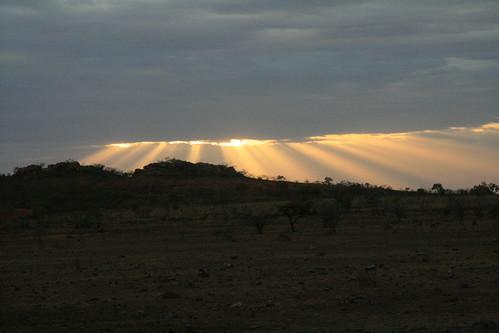 Dawn at The Pebbles
