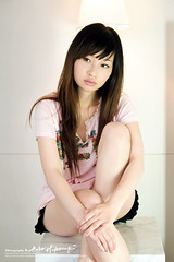 Eve (AehoHikaruki) Tags: life light portrait people cute girl beautiful fashion asian hotel photo nice interesting asia evelyn photos sweet album great chinese taiwan olympus lazy taipei lovely  e1 ambience       aehohikaruki platinumheartaward