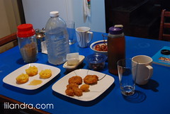 24th Fast: Our Iftar Table
