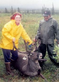 Sarah Palin - Caribou Hunt