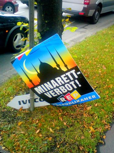 Minaret ban! by mr.gears.