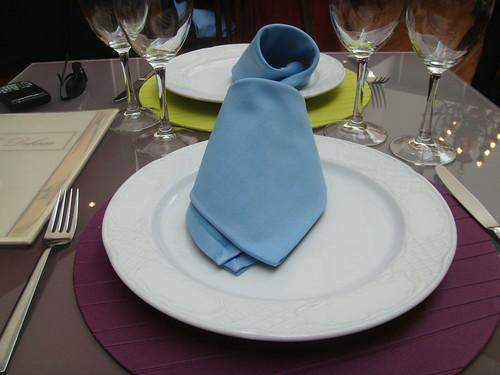 Restaurante La Dehesa - Sexta Avenida - Decoración de la mesa