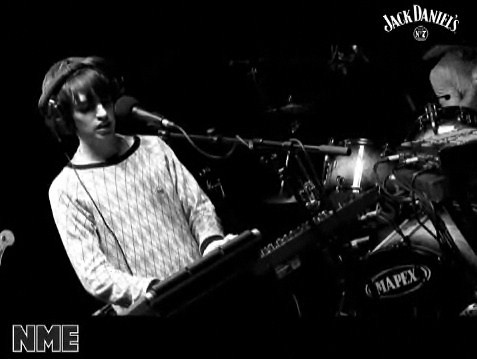 Sam from Late Of The Pier at Jack Daniel Happy Birthday Session on NME site ♥♥♥♥♥♥