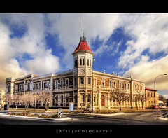 Port Adelaide Customs House :: HDR (:: Artie | Photography ::) Tags: house building heritage century photoshop canon cs2 victorian australia wideangle structure adelaide 1020mm southaustralia hdr 19th customs customshouse artie italianate portadelaide 3xp sigmalens photomatix tonemapping tonemap 400d rebelxti