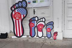 Carbon footprint (net_efekt) Tags: print foot footprints problem countries change carbon climatechange climate crisis footprint warming global carbonfootprint carbonfootprints warmingoxfamoxfam internationalpoznanpolandwintercampaignngofeetfootfsepiedper capitaunited nationsunemissionsdeveloping