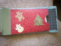 Inside pocket for gift card book