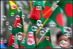 Victory in the air [..Dhaka, Bangladesh..] (Catch the dream) Tags: light red reflection green bokeh flag bongo vivid bubbles victory sphere round refraction bengal bangla redgreen memoirs bengali victoryday memorable bangladeshi bangali december16 16december 16thdecember abigfave bangladeshflag flagofbangladesh gettyimagesbangladeshq2