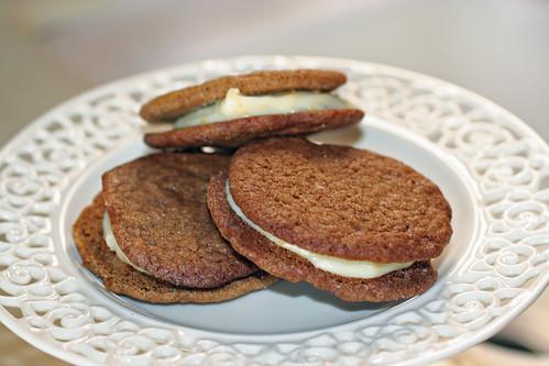 ginger creme sandwich