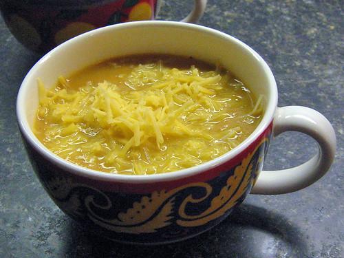 Pumpkin Cheddar Soup