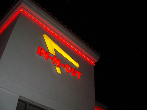 in-n-out in vegas!