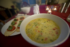 Broccoli Egg Lemon Soup