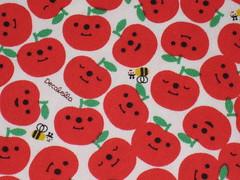 Apples (This and That From Japan) Tags: apple japan forsale designer sewing craft bee cotton etsy yuka yardage decole artfire saji japanesefabric dawanda decolello thisandthatfromjapan