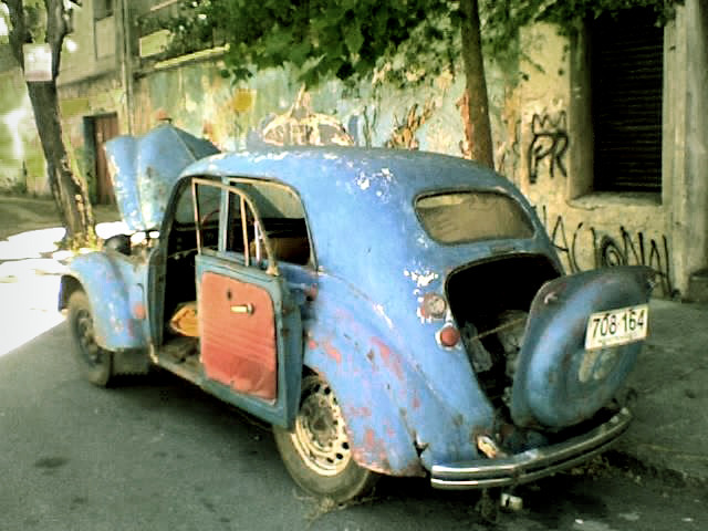 Abandoned Renault