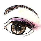 machiajul ochiilor