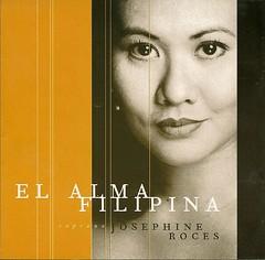 Josephine Roces: El Alma Filipina (Leo Cloma) Tags: album cd alma philippines el josephine filipino filipina songs roces