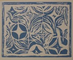 First Linocut