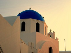 Aegean Sunset (janetfo747) Tags: blue sunset aegean santorini greece dome cyclades thira whitewash greekorthodoxchurch supershot therasia 5photosaday oiasunset theunforgettablepictures overtheexcellence alegeansea alegeansunset mygearandmepremium mygearandmebronze mygearandmesilver mygearandmegold mygearandmeplatinum mygearandmediamond