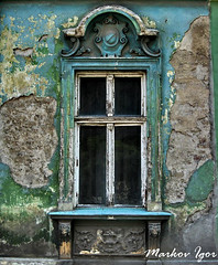 markov igor - history of a house, sremska mitrovica (Markov Igor) Tags: old house art heritage window rural europe decay serbia culture haus baroque vojvodina srbija prozor barok haz cubism srijem vajdasag kuca sremskamitrovica srem mywinners
