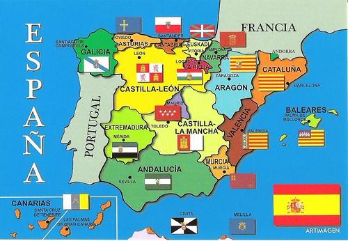 spanija karta Rastko: Španija spanija karta