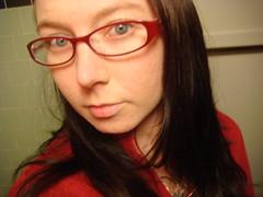 New Glasses (extemporaneous) Tags: glasses sj newglasses kennethcole sarahjaneerickson