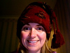 Love my hat!  January 26th (lisibo) Tags: photobooth twitter365 lisibo