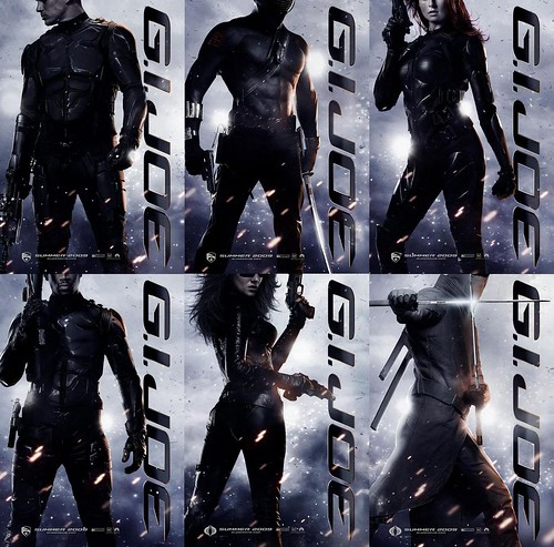 G.I. JOE: Rise of Cobra Character Poster