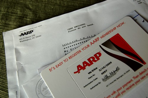 AARP. Really?