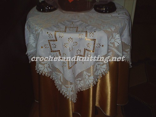 Crochet Table Cloth-Crochet Table Cloth Manufacturers, Suppliers