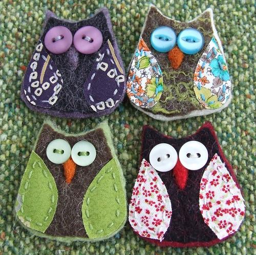 Owls In Love. Cute little owls I love