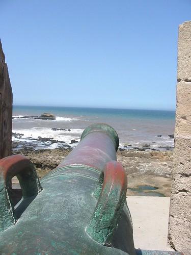 Op de ramparts van Essaouira