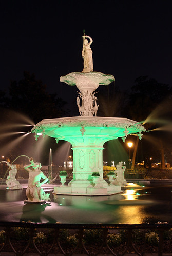 Irish Forsyth Fountain - Happy St. Patrick´s Day!