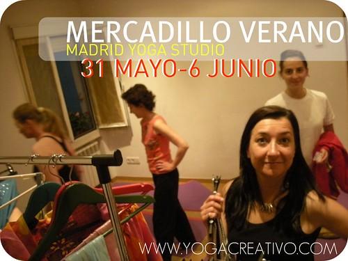 Mercadillo, Moda Yoga Madrid Chamartin