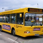 Go North East: 0489 V189ERG Dennis MPD/Plaxton