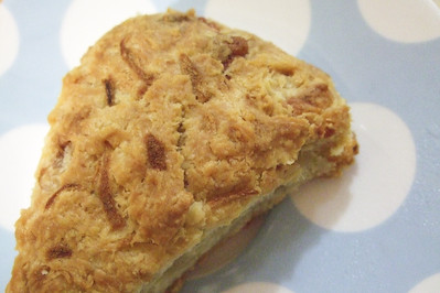 Pear And Cheddar Scones Recipe — Dishmaps