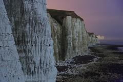 Seven Sisters from afar (Alex Bamford) Tags: sea moon night sussex coast chalk cliffs fullmoon moonlit moonlight sevensisters peacehaven moonlighting explored interestingness136 i500 alexbamford thebigbambooly wwwalexbamfordcom alexbamfordcom