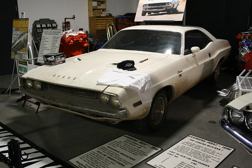 Floyd Garret Muscle Car Museum Vanishing Point Challenger