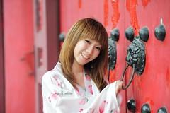[フリー画像] 人物, 女性, アジア女性, 台湾人, 和服・浴衣, 201007291500