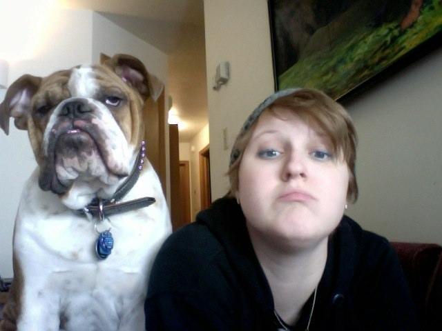 Bulldogs make silly faces