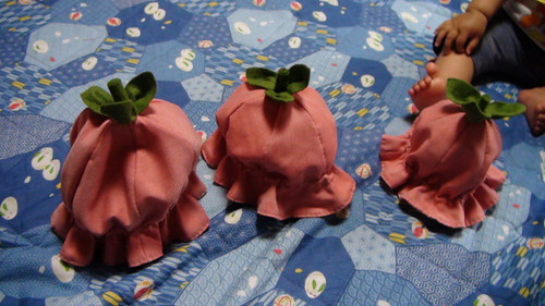 Strawberry hats!