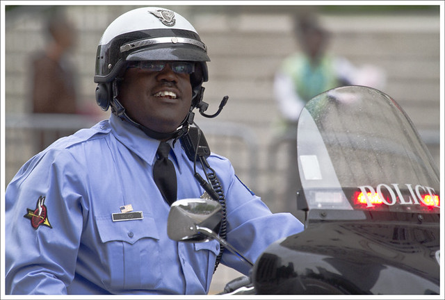 Motorcycle Policeman