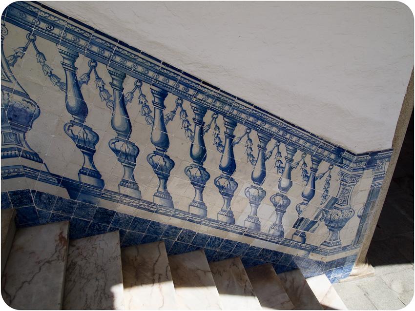 Azulejos à l'université d'Évora