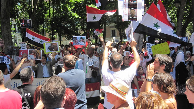 Apoyo al pueblo sirio