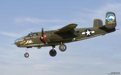 B-25J (Bob Stronck) Tags: vintage restored bomber moffettfield mountainviewca tondelayo b25jmitchell wwiiwarplanes ©rmstronck stronckphotocom collingsfoundationcollection