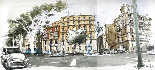 Málaga, Alameda Principal