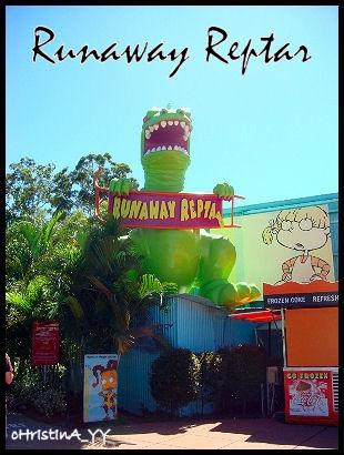 Runaway Reptar Rollercoaster
