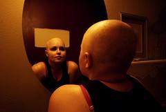 ashley in remission (jessyparr) Tags: reflection mirror bald leukemia hairloss remission acuteleukemia