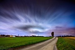 (Andreas Reinhold) Tags: road longexposure storm weather night dark country emma bergischesland mettmann andreasreinhold