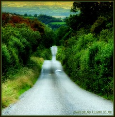 THE OLD BOG ROAD, IRELAND. (Edward Dullard Photography. Kilkenny, Ireland.) Tags: road kilkenny ireland irish landscape scenery sad erin irland eire lonely bog picturesque hibernia emeraldisle irlanda irlande sentimental ierland eireann  cillchainnigh mywinners avision diamondclassphotographer edwarddullard